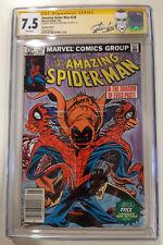 Amazing Spider-Man 238 CGC 7.5  SS x 2 Stan Lee & J. Romita Jr. Canadian variant