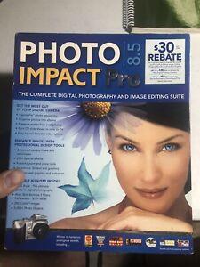 Nova PhotoImpact Pro 8.5 Software and Manual w Key Code on front