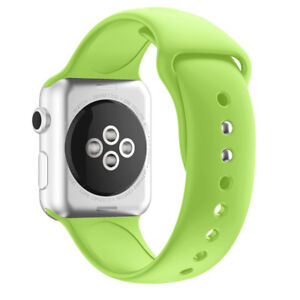 For Apple Watch Iwatch Silicone Band Smart Watch Wrist Replacement Straps Series