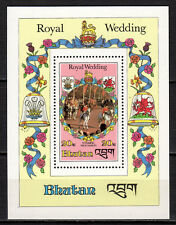 Bhutan - 1981 Royal wedding - Mi. Bl. 85 MNH