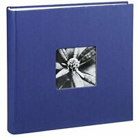 Hama Fine Art Jumbo Photo Album, 30 x 30 cm, 400 Photos - Blue