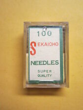 100- 135x7, 135x5 Sewing Machine Needles, sz 18, SKC Japan