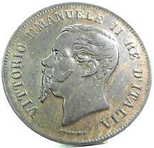 Vittorio Emanuele II (1862 Napoli) 5 CENTESIMI