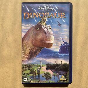 Walt Disney's Dinosaur UK Release VHS Video Pioneering Digital Animation PG 2000