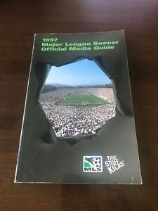 Major League Soccer (MLS) Media Guide 1997 (Excellent Condition) *RARE