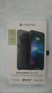mophie Juice Pack Access Battery Case for Apple iPhone XS Max - Black (1)