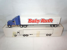 Baby Ruth Candy Bar International Semi With Van Trailer By Ertl 1/64th Scale