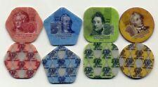 Transnistria - 4 plastic coins. Full set (2014)