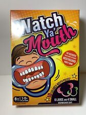 Watch Ya Mouth Family Edition Board Game 3-10+ Players By Buffalo Games & Puzzle