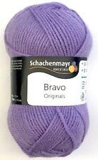 """Wolle-schachenmayr Original """"bravo"""" 50g filato - in 60 Parte dei colori 2 Fb.08190-lilla"""