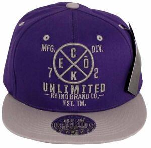 Ecko 72 Unlimited Men's Snapback Caps, New Baseball Hip Hop Retro Era Time Money