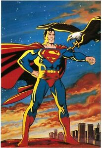 1987 Adventures of Superman LIMITED Promotional Advertising Card
