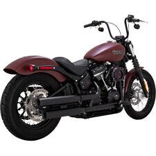 Escape Para Harley-Davidson Vance Hines Eliminator 300 Slip-On Mufflers Black