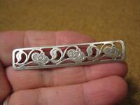███►alte Brosche / 835er Silber  -- um 1920 -- (Fach 9 )