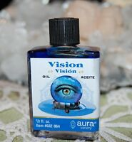 Vision Oil (1) 4DRMs  Magical Oil Psychic, Insight, Mediums, Wicca, Santeria,