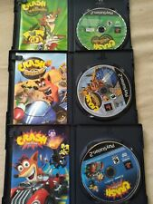Crash Bandicoot Playstation 2 Games. Lot of 3. TwinSanity. NitroKart. Tag Team.
