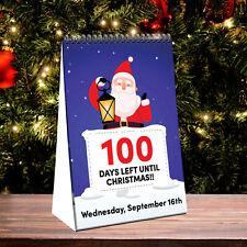 100 Day Christmas Countdown Calendar