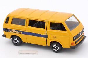 SCHABAK MODELL 1/43 VW VOLKSWAGEN CARAVELLE SYNCRO LUFTHANSA #1040/41