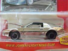 JOHNNY LIGHTNING - MUSCLE CARS - (1984) '84 PONTIAC FIREBIRD TRANS AM (CHROME)