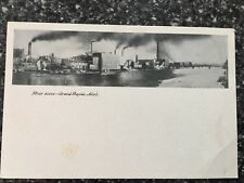 River Scene ~ Grand Rapids, Michigan ~ Vintage Postcard ~ Early 1900's