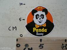 STICKER,DECAL PANDA PANDA BENNY