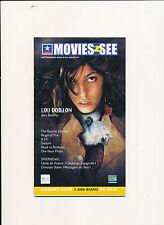 MOVIES2SEE 23 (9/2002) LOU DOILLON ROBIN WILLIAMS AL PACINO BRAD PITT MATT DAMON