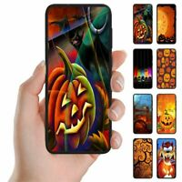 For Apple iPhone Series - Halloween Print Theme Mobile Phone Back Case Cover