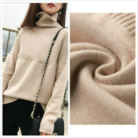 Women's Warm Winter Cashmere Sweater Turtleneck Knitted Pullovers Female Sweater