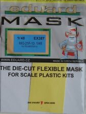 Eduard 1/48 EX387 Canopy Mask for the Trumpeter MiG-21F-13 kit