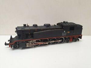 Rare ibertren locomotive a vapeur 157 type 242 de la renfe  en HO
