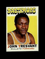1972-73 Topps Basketball #37 John Tresvant (Bullets) NM