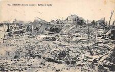 B8794 France Tergnier devaste Raffinerie Sailly 1920