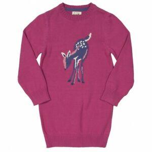 BNWT! Soft knitted Jumper Dress. 100% organic cotton. Premium Quality UK Stock.