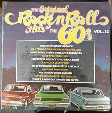 The Original Rock n' Roll Hits of the 60's Vol. 11 1982 SEALED USA LP