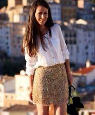 Zara Sequin Skirts for Women
