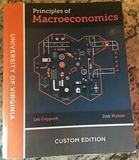 Principles of Macroeconomics by Coppock, Lee, Mateer, Dirk UVA edition Virginia