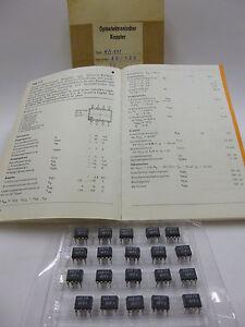 200 pcs OPTOCOUPLER MB111 MCL611 IR-Diode / SI-Photodiode / TTLout NEW