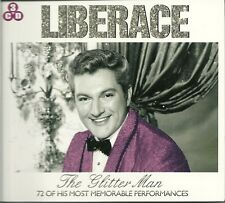 LIBERACE THE GLITTER MAN - 3 CD BOX SET - 72 OF HIS MOST MEMORABLE PERFORMANCES