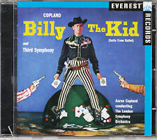 AARON COPLAND Billy The Kid / Third Symphony LONDON SYMPHONY ORCHESTRA @NEW CD@