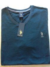 Mens Us Polo Assn  Short Sleeve  V- Neck T-shirt Custom Fit  SIZE M ONLY 1 LEFT