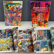 The Return Of Superman DC Comic Graphic Novel Comic Paperback