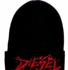 DIESEL Black   Red Triple X Beanie 0b52287eed10