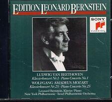 CD album: Leonard Bernstein: Beethoven - Mozart. sony. C4
