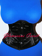 "Corset Belt Short Underbust Waspie Waist Training Steel Boned Size XS 22"""
