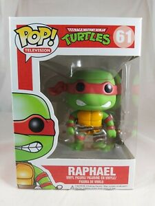 Television Funko Pop - Raphael - Teenage Mutant Ninja Turtles - No. 61