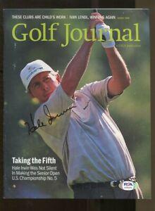 Hale Irwin Signed 2000 Golf Journal Magazine August PGA Golf Senior PSA/DNA