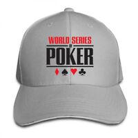 World Series of Poker Logo Adjustable Cap Snapback Baseball Hat