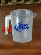 7� Bud Light Beer Plastic Pitcher clean