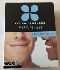 Living Language Spanish Essential Edition: Beginner Course including CDs & Book