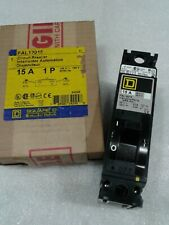 Fal12015 Square D Molded Case Circuit Breaker 1 Pole 15 Amp 120V New!